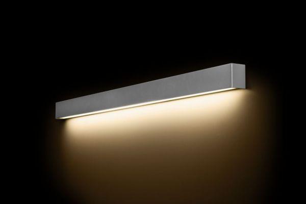 Lampy oświetlenie Nowodvorski - STRAIGHT WALL silver L 6357